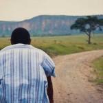 Afrikanischer Junge, auf Lamu Island