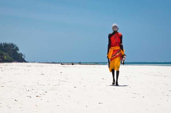 Strand auf Lamu