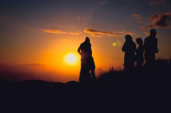 Sonnenuntergang Kenia