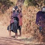 Afrikanischer Stamm in Kenia