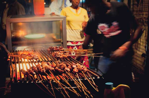 BBQ in Mombasa, Kenia